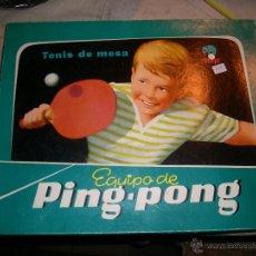 Juguetes antiguos y Juegos de colección: JUGUETE VINTAGE - TENIS DE MESA PING PONG. Lote 46832048