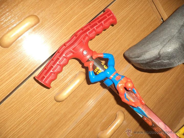 Juguetes antiguos y Juegos de colección: Saltador infantil - Spiderman Marvel- - Foto 2 - 47330074