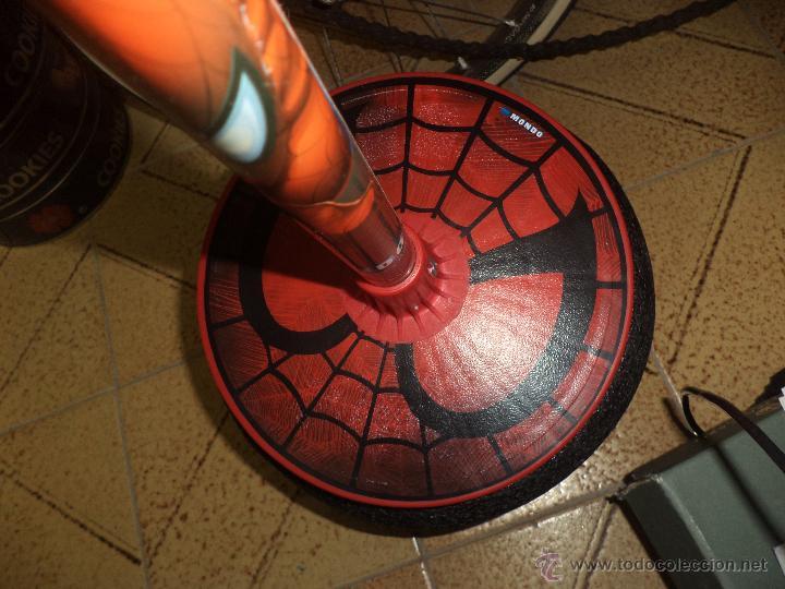 Juguetes antiguos y Juegos de colección: Saltador infantil - Spiderman Marvel- - Foto 3 - 47330074