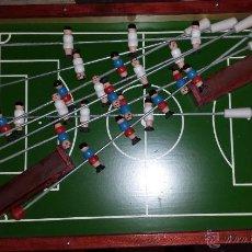 Juguetes antiguos y Juegos de colección: FUTBOLIN DE MADERA AÑOS 60-70. Lote 47505191