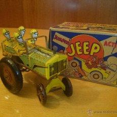 Juguetes antiguos y Juegos de colección - Jumpin Jeep de 1957 con caja PERFECTO ESTADO - 47639413