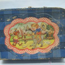 Juguetes antiguos y Juegos de colección: ANTIGUA TARTERA INFANTIL DE CARTÓN. Lote 47797617