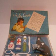 Juguetes antiguos y Juegos de colección: CAJA DE LABORATORIO DE SRTA. PEPIS. NUEVO A ESTRENAR. Lote 47860617
