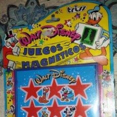 Juguetes antiguos y Juegos de colección: JUEGO MAGNETICO 3 EN RAYA WALT DISNEY DE RIMA. Lote 47866169