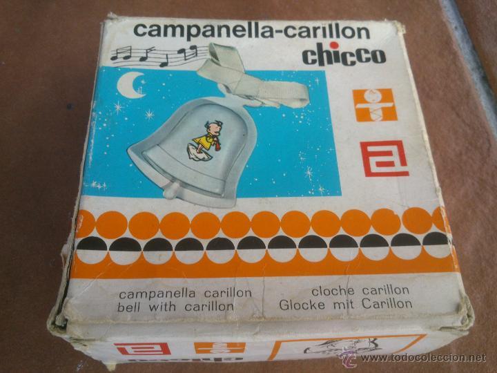 CHICCO CAMPANELLA-CARILLON.MUSICAL. (Juguetes - Varios)