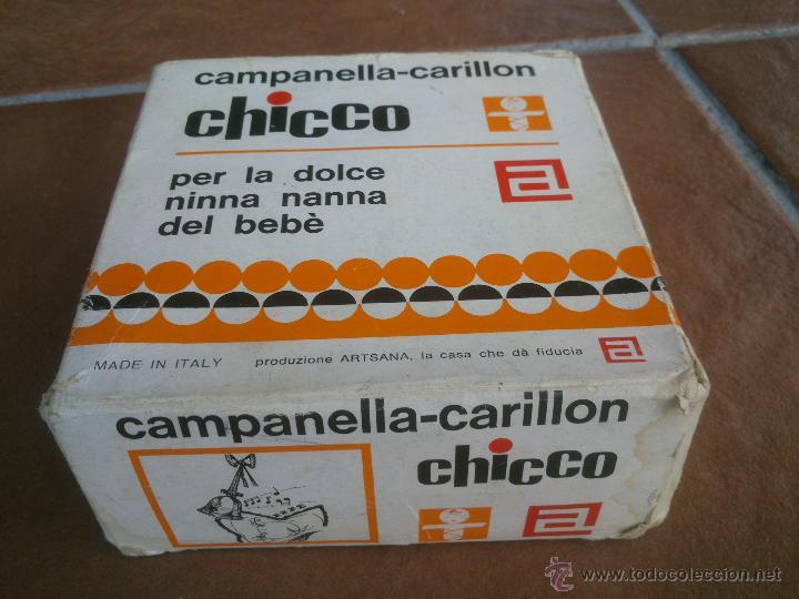 Juguetes antiguos y Juegos de colección: CHICCO CAMPANELLA-CARILLON.MUSICAL. - Foto 5 - 47928062