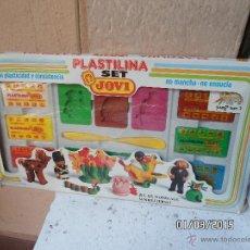 Juguetes antiguos y Juegos de colección: SET DE PLASTILINAS JOVI. Lote 37066117