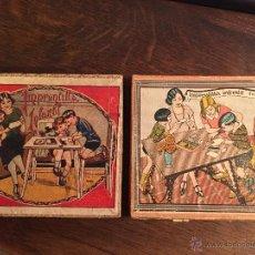 Juguetes antiguos y Juegos de colección: IMPRENTILLA INFANTIL, LOTE DOS.. Lote 48035740