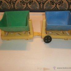 Juguetes antiguos y Juegos de colección: VIEJO JUGUETE TREN DE PLASTICO AÑOS 70. Lote 48442912