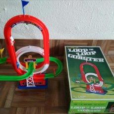 Juguetes antiguos y Juegos de colección: PISTA LOOP THE LOOP COASTER. SOLO ENTREGA MANO MADRID. Lote 48833502