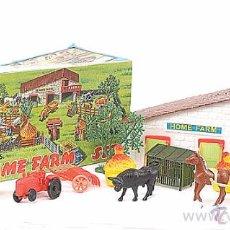 Juguetes antiguos y Juegos de colección: HOME FARM SET - GRANJA DE JUGUETE - AÑOS 80 -REF3500- D. Lote 134835141