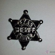 Juguetes antiguos y Juegos de colección: ESTRELLA SHERIFF OESTE. Lote 49199125