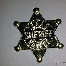Juguetes antiguos y Juegos de colección: ESTRELLA SHERIFF OESTE. Lote 49199136