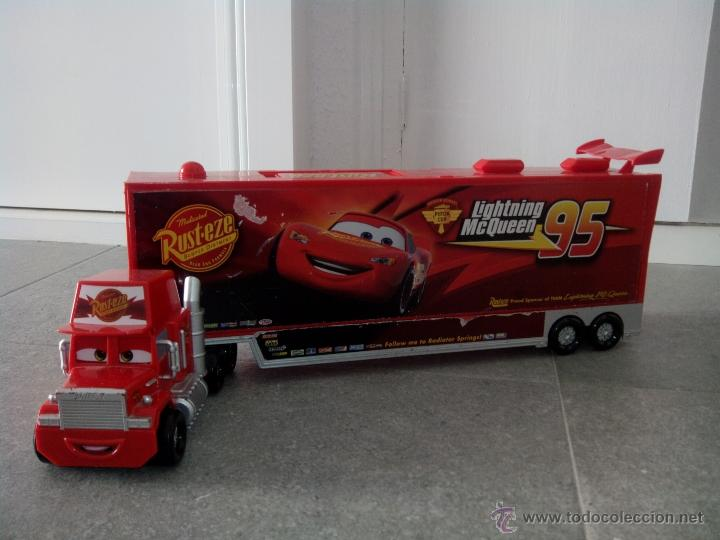 cami n mack cars rayo mcqueen disney pixar 6 comprar en todocoleccion 49244718. Black Bedroom Furniture Sets. Home Design Ideas