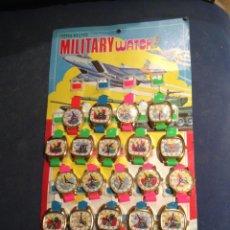 Juguetes antiguos y Juegos de colección: BLISTER RELOJES NIÑO JUGUETE AÑOS 70. Lote 49591678