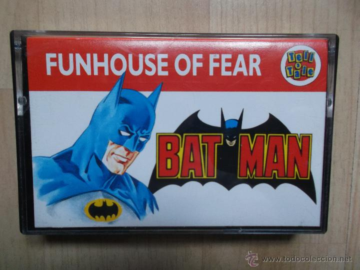 BATMAN - FUNHOUSE OF FEAR 1989 DC COMICS, ESCASO