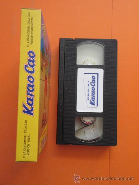 Juguetes antiguos y Juegos de colección: CINTA VHS COLA CAO LA CANCION DEL COLA CAO PARA EL KARAO CAO - Foto 2 - 50191734