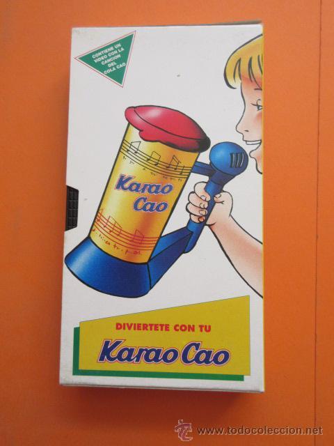 Juguetes antiguos y Juegos de colección: CINTA VHS COLA CAO LA CANCION DEL COLA CAO PARA EL KARAO CAO - Foto 3 - 50191734