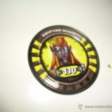 Juguetes antiguos y Juegos de colección: SLINGERS WAR TITANS TAZO CHAPA METALICA 13 EGYPTIAN GUARD . Lote 50229661