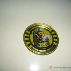 Juguetes antiguos y Juegos de colección: SLINGERS WAR TITANS TAZO CHAPA METALICA HORUS 55. Lote 50229698
