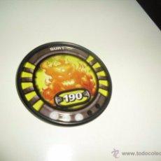 Juguetes antiguos y Juegos de colección: SLINGERS WAR TITANS TAZO CHAPA METALICA SURT 27 . Lote 50229771