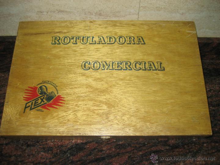 ROTULADORA COMERCIAL FLEX IMPRENTILLA. (Juguetes - Varios)