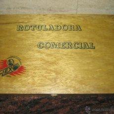 Juguetes antiguos y Juegos de colección: ROTULADORA COMERCIAL FLEX IMPRENTILLA.. Lote 50235214
