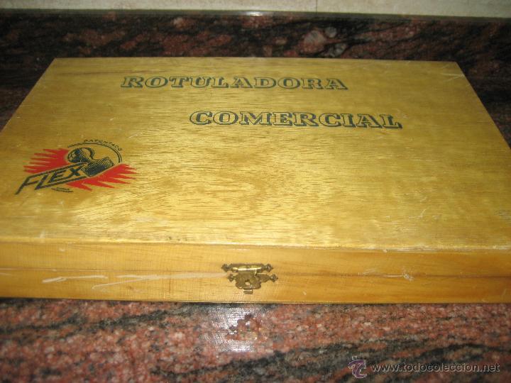 Juguetes antiguos y Juegos de colección: ROTULADORA COMERCIAL FLEX IMPRENTILLA. - Foto 3 - 50235214