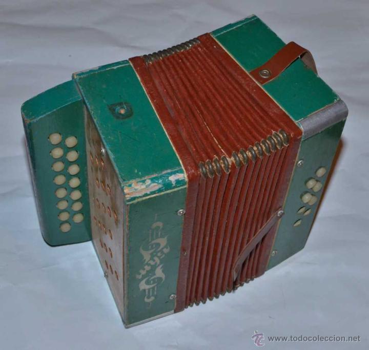 Antiguo acorde n juguete de madera comprar en - Juguetes antiguos de madera ...