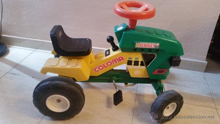 De Cm Pedales 540 Coche Ref Pastor Renault Coloma 75 Años Y 70 Tractor Compact Juguete N0vO8mnw