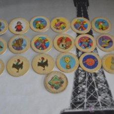 Giocattoli antichi e Giochi di collezione: LOTE DE TAZOS GOLD CAPS TAZO CAP B2. Lote 50644109