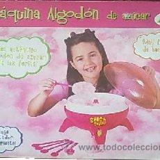 Juguetes antiguos y Juegos de colección: MAQUINA DE ALGODON DE AZUCAR, MUY FACIL DE HACER. Lote 53780824