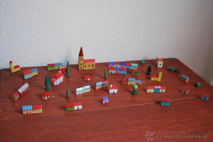 Unidades Construcción Juguete Ciudad Casitas Casa Madera Casas De 55 Pueblo thxdCsQorB