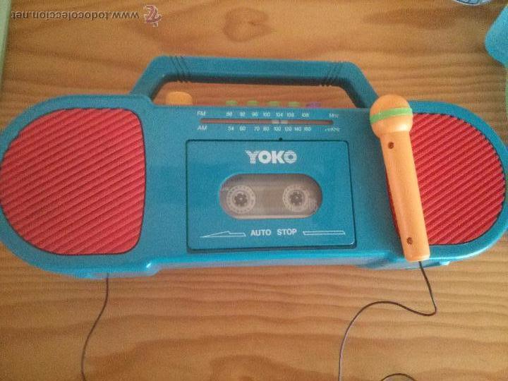 Radio Micróf De Yoko Cassette En Comprar Con Juguete Marca sxhCtQrd