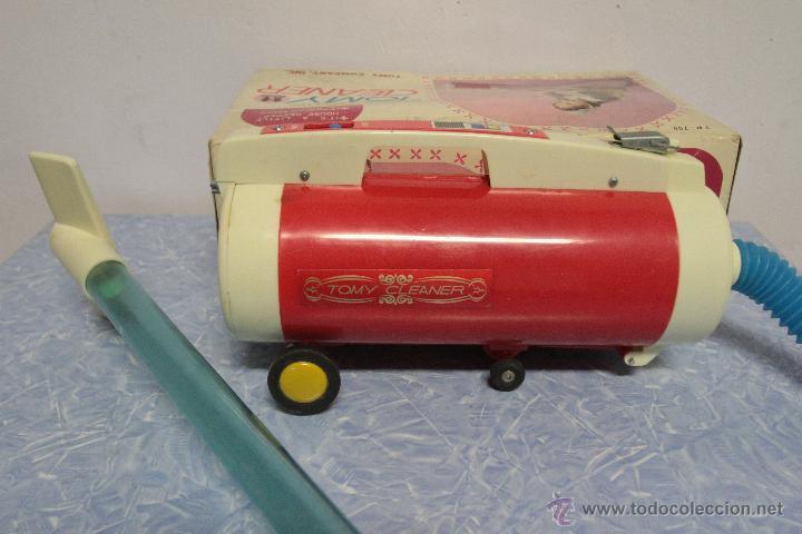 Juguetes antiguos y Juegos de colección: Antigua aspiradora de juguete, Tomy Cleaner, con caja - Foto 6 - 51394587