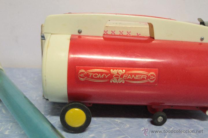 Juguetes antiguos y Juegos de colección: Antigua aspiradora de juguete, Tomy Cleaner, con caja - Foto 7 - 51394587