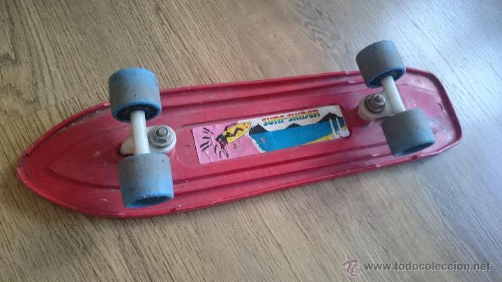 Juguetes antiguos y Juegos de colección: Antiguo monopatin Skateboard años 70s 80s Similar a Sancheski Santa cruz Powell Peralta SK8 - Foto 3 - 51404576