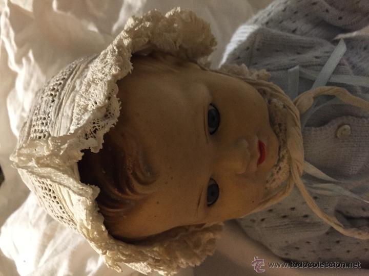 Juguetes antiguos y Juegos de colección: Antiguo y precioso gorrito de bebé - Foto 3 - 51452648