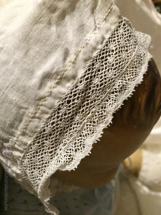 ANTIGUO GORRITO DE BEBÉ (Juguetes - Vestidos y Accesorios Muñeca Extranjera Antigua)