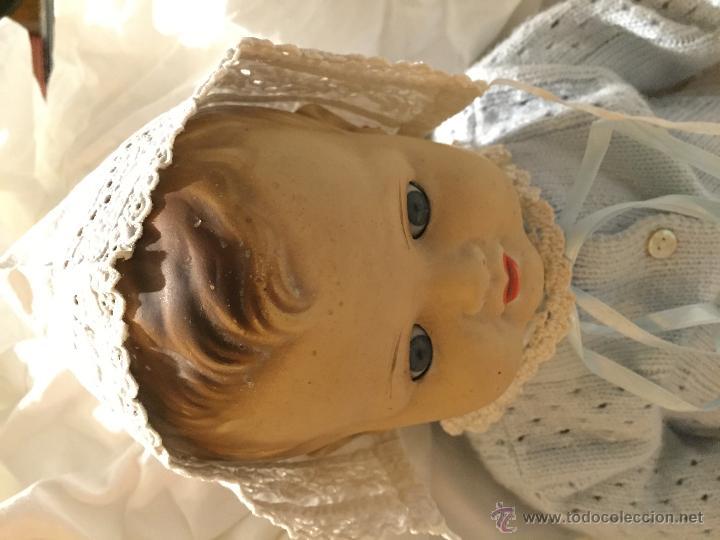 Juguetes antiguos y Juegos de colección: Antiguo y precioso gorrito de bebé - Foto 2 - 51457531