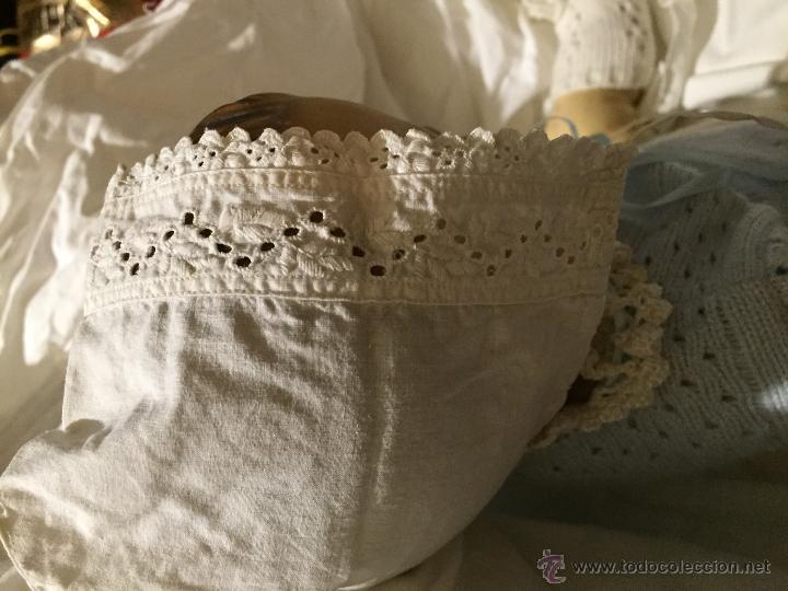 Juguetes antiguos y Juegos de colección: Antiguo y precioso gorrito de bebé - Foto 3 - 51457531