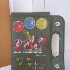 Juguetes antiguos y Juegos de colección: ANTIGUO ESTUCHE DE PINTURAS AÑOS 70 UN GLOBO, DOS GLOBOS, TRES GLOBOS. Lote 51586916