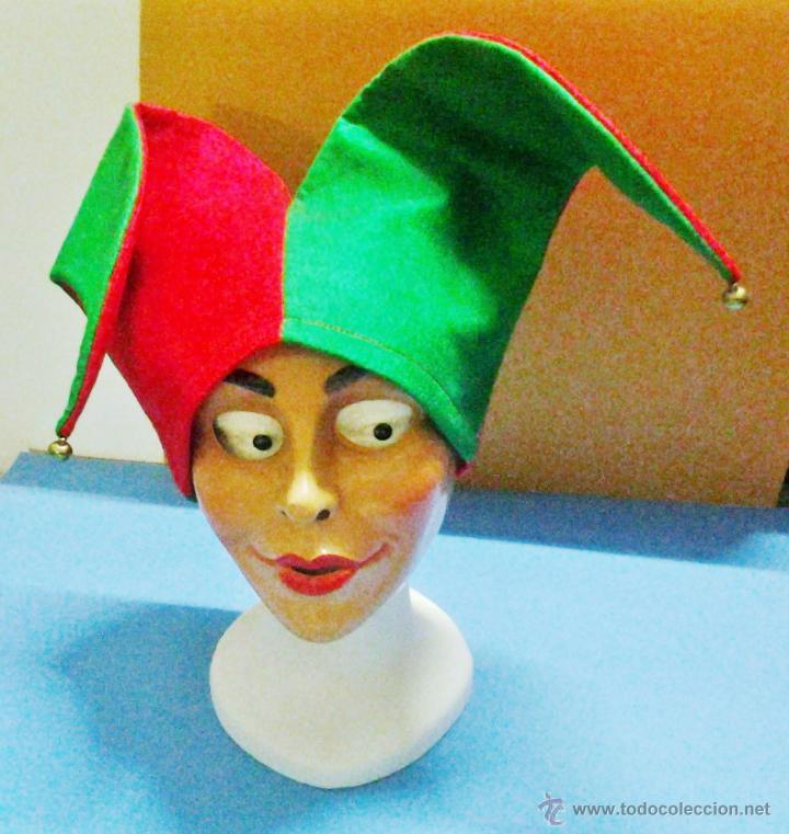 carnaval halloween gorro bufon bufo jug comprar en