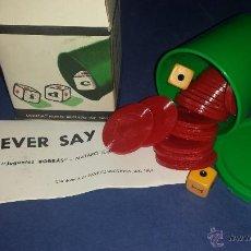 Juguetes antiguos y Juegos de colección: JUEGO DE BORRAS. Lote 51648579