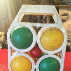 Juguetes antiguos y Juegos de colección: ANTIGUO JUEGO INFANTIL DE LA PETANCA, AÑOS 70-80. Lote 51783352