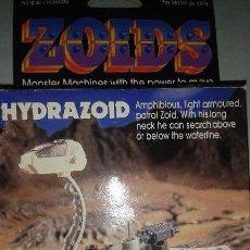 Juguetes antiguos y Juegos de colección: ZOIDS MOSTRUO MECANICO HYDRAZOID MARCA TOMY. Lote 52439623