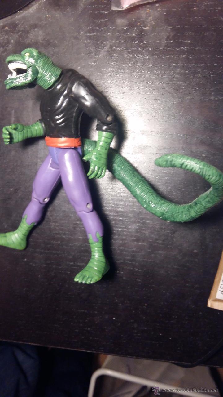 Juguetes antiguos y Juegos de colección: Juguete de spiderman, venom, hombre lagarto, lizardman. original marvel, antiguo, articulable - Foto 2 - 52478871