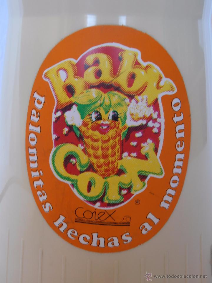 Juguetes antiguos y Juegos de colección: PALOMITERO BABY CORN COIEX FABRICADA EN ESPAÑA AÑOS 80 FUNCIONA CORRECTAMENTE - Foto 3 - 52697898