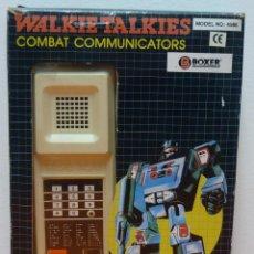 Juguetes antiguos y Juegos de colección: WLAKIE TALKIES COMBAT COMUNICATORS- BOXER 1980`S. Lote 52712522