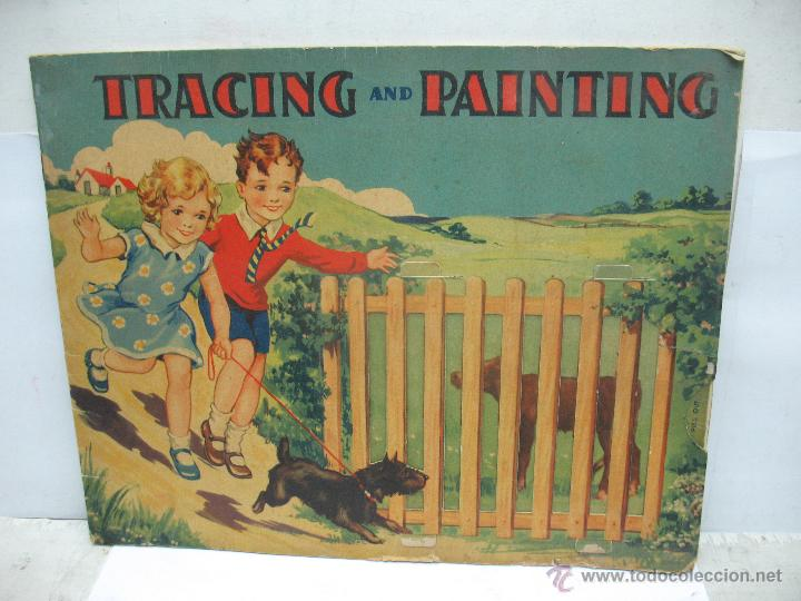 Antiguo Cuento Para Colorear En Inglés Tracing And Painting